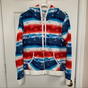Juicy Couture stars & stripes hoodie!